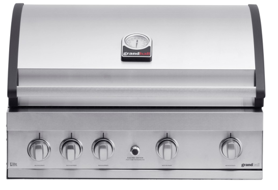 Grandhall Gasgrill Elite G4 Einbau/Built-In Barbecue Mod.2021 K04000203A